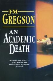 Cover of: An Academic Death