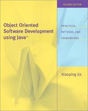 Cover of: Object-oriented software development using Java