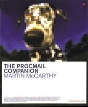 Cover of: The Procmail Companion
