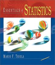 Cover of: Essentials of Statistics