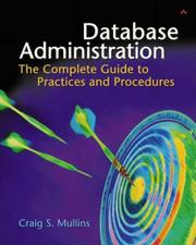 Cover of: Database Administration