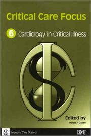 Cover of: Critical Care Focus 6 | Hall