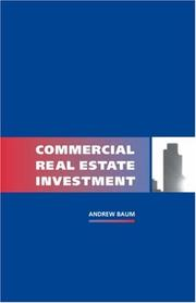 Cover of: Commercial Real Estate Investment