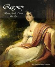 Cover of: Regency | Art Gallery of South Australia.