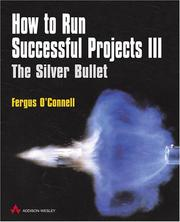 Cover of: How to run successful project III | Fergus O
