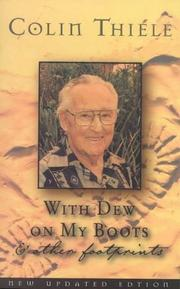 Cover of: With dew on my boots & other footprints | Colin Thiele
