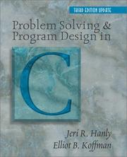 Problem Solving and Program Design in C (3rd Edition)