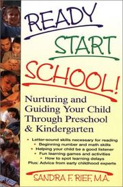 Cover of: Ready start school!