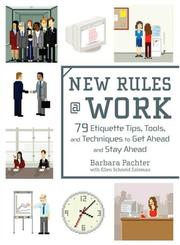 Cover of: New Rules @ Work | Barbara Pachter