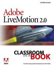 Cover of: Adobe LiveMotion 2.0. |