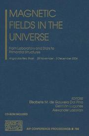 Cover of: Magnetic Fields in the Universe  |