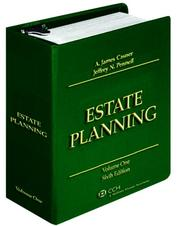 Cover of: Estate Planning