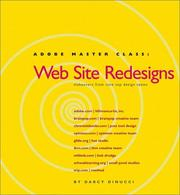 Cover of: Web site redesigns | Darcy DiNucci