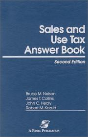 Cover of: Sales and Use Tax Answer Book |