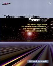 Cover of: Telecommunications Essentials | Lillian Goleniewski