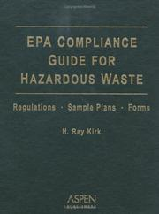Cover of: Epa Compliance Guide For Hazardous Waste 2004
