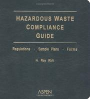 Cover of: Hazardous Waste Compliance Guide