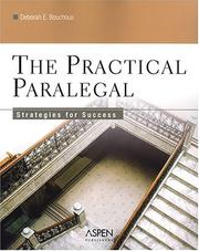 Cover of: The Practical Paralegal | Deborah E. Bouchoux