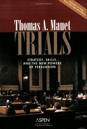 Cover of: Trials