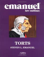 Cover of: Emanuel Law Outlines
