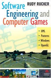 Cover of: Software engineering and computer games