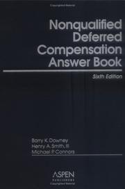 Nonqualified Deferred Compensation Answer Book