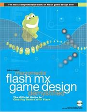 Cover of: Macromedia Flash MX game design demystified | Jobe Makar