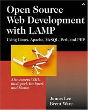 Cover of: Open Source Web Development with LAMP