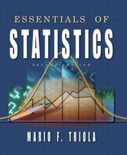 Cover of: Essentials of Statistics (2nd Edition) (Triola Series)