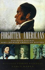 Cover of: Forgotten Americans