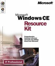 Cover of: Microsoft Pocket PC resource kit |