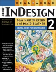 Cover of: Real world Adobe InDesign 2