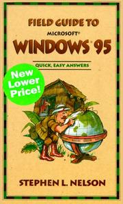 Cover of: Field Guide to Microsoft(r) Windows(r) 95