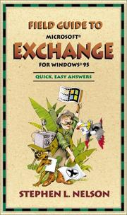 Cover of: Field Guide to Microsoft(r) Exchange