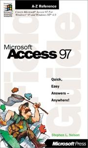 Cover of: Microsoft(r) Access 97 Field Guide