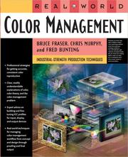 Cover of: Real World Color Management | Bruce Fraser