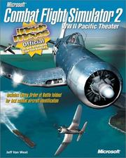 Cover of: Microsoft  Combat Flight Simulator 2: WW II Pacific Theater | Jeff Van West