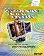 Cover of: Microsoft Windows Media Player 7 Handbook | Seth McEvoy