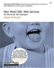 Cover of: Real World XML Web Services