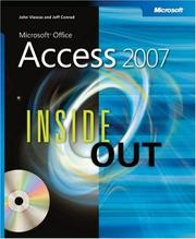 Microsoft  Office Access(TM) 2007 Inside Out (Microsoft Office Access Inside Out) by John Viescas, Jeff Conrad