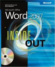 Cover of: Microsoft  Office Word 2007 Inside Out | Katherine Murray, Mary Millhollon, Beth Melton
