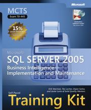 Cover of: MCTS Self-Paced Training Kit (Exam 70-445): Microsoft  SQL Server(TM) 2005 Business Intelligence Implementation and Maintenance (Pro - Certification) | Erik Veerman