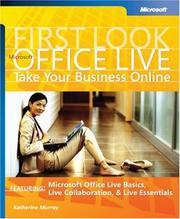 Cover of: Microsoft Office live
