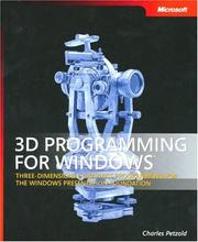 Cover of: 3D Programming for Windows (Pro - Developer)