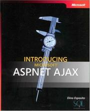 Cover of: Introducing Microsoft  ASP.NET AJAX (Pro - Developer)