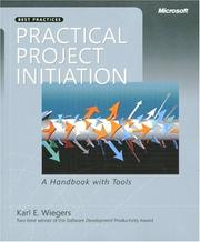 Cover of: Practical Project Initiation