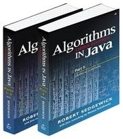 Cover of: Bundle of Algorithms in Java, Third Edition (Parts 1-5)