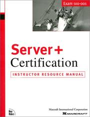 Cover of: Server and Certification | Elton Jernigan