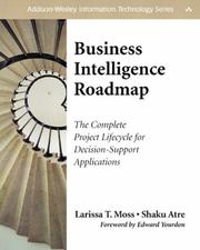 Cover of: Business intelligence roadmap