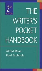 Cover of: The writer's pocket handbook